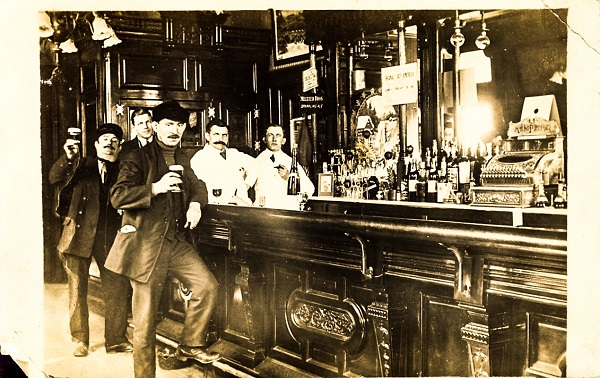 Old Photo of Saloon