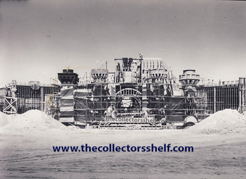 Disneyland Sleeping Beauty Castle under construction in 1955
